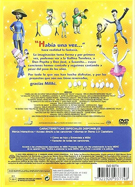 Miliki Presenta Había Una Vez Amazon De Miliki Dvd Blu Ray