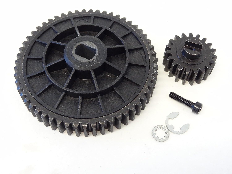 Rovan Steel 19//55 Tooth High Speed Spur Gear Set HPI Baja 5B 5T 5SC King Motor