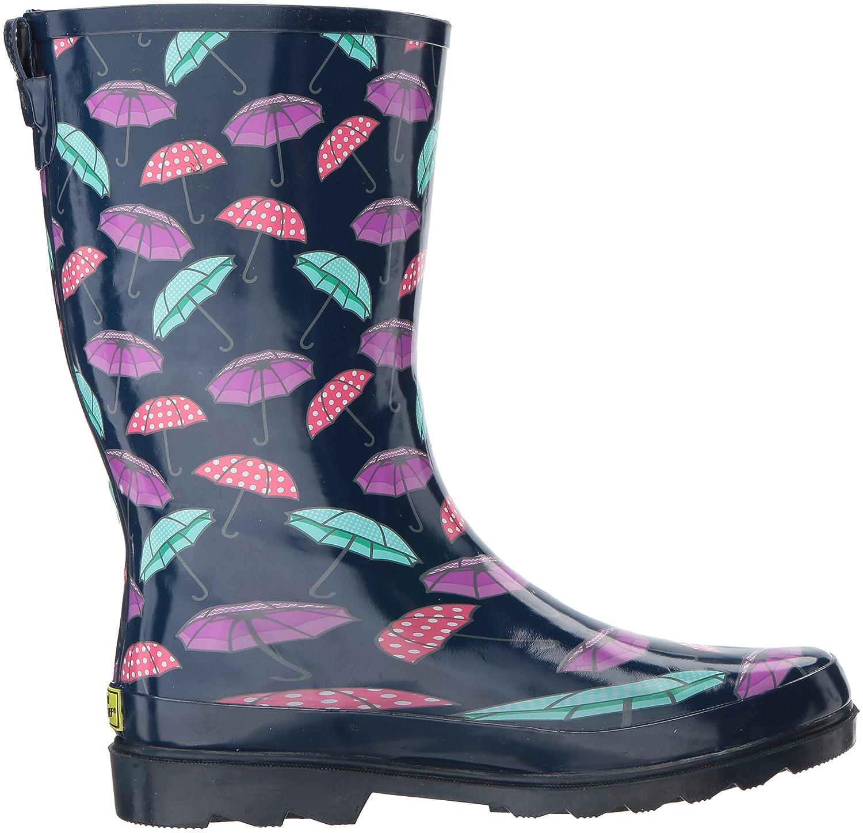 Western Chief Women's Printed Tall Rain Boot B01MZG5Z44 9 B(M) US|Pretty Parasols
