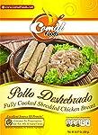 Comal Comida Casera Pollo Pechuga Deshebrado, 300 g