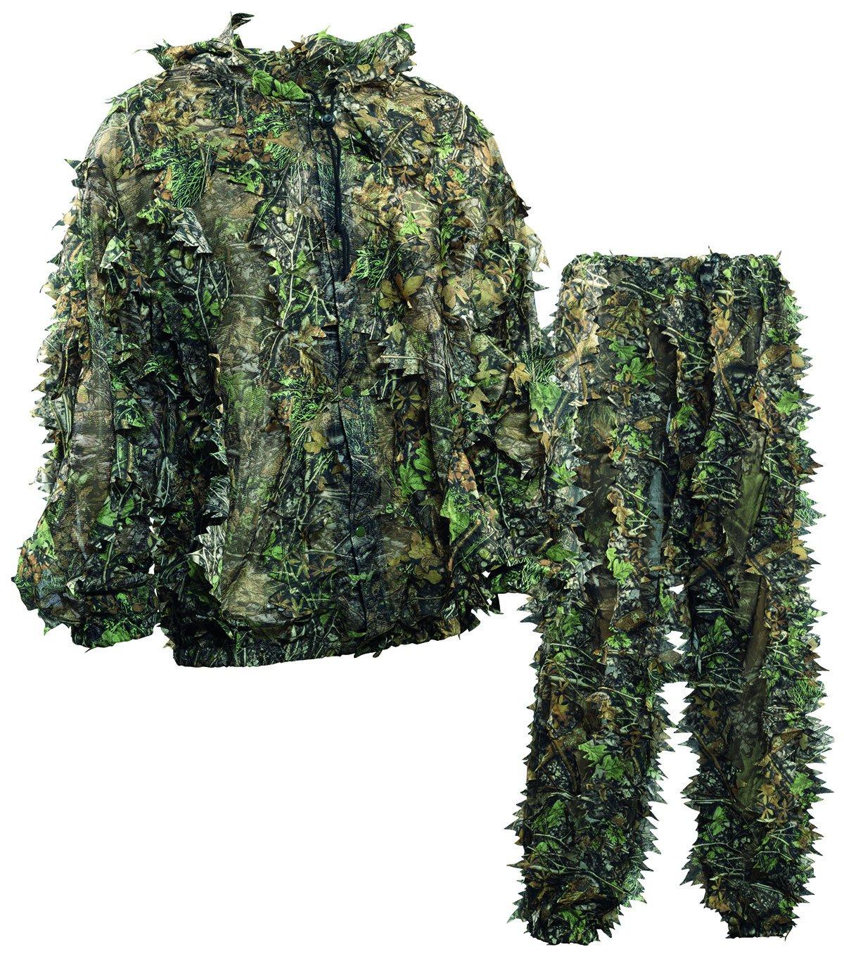 Camo L   XL Deerhunter Ensemble veste et pantalon camouflage feuilles 3D
