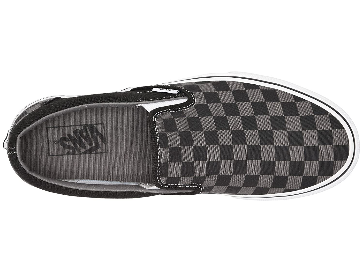 Vans AUTHENTIC, Unisex-Erwachsene Unisex-Erwachsene AUTHENTIC, Sneakers schwarz/Pewter Checkerboard d00fe5