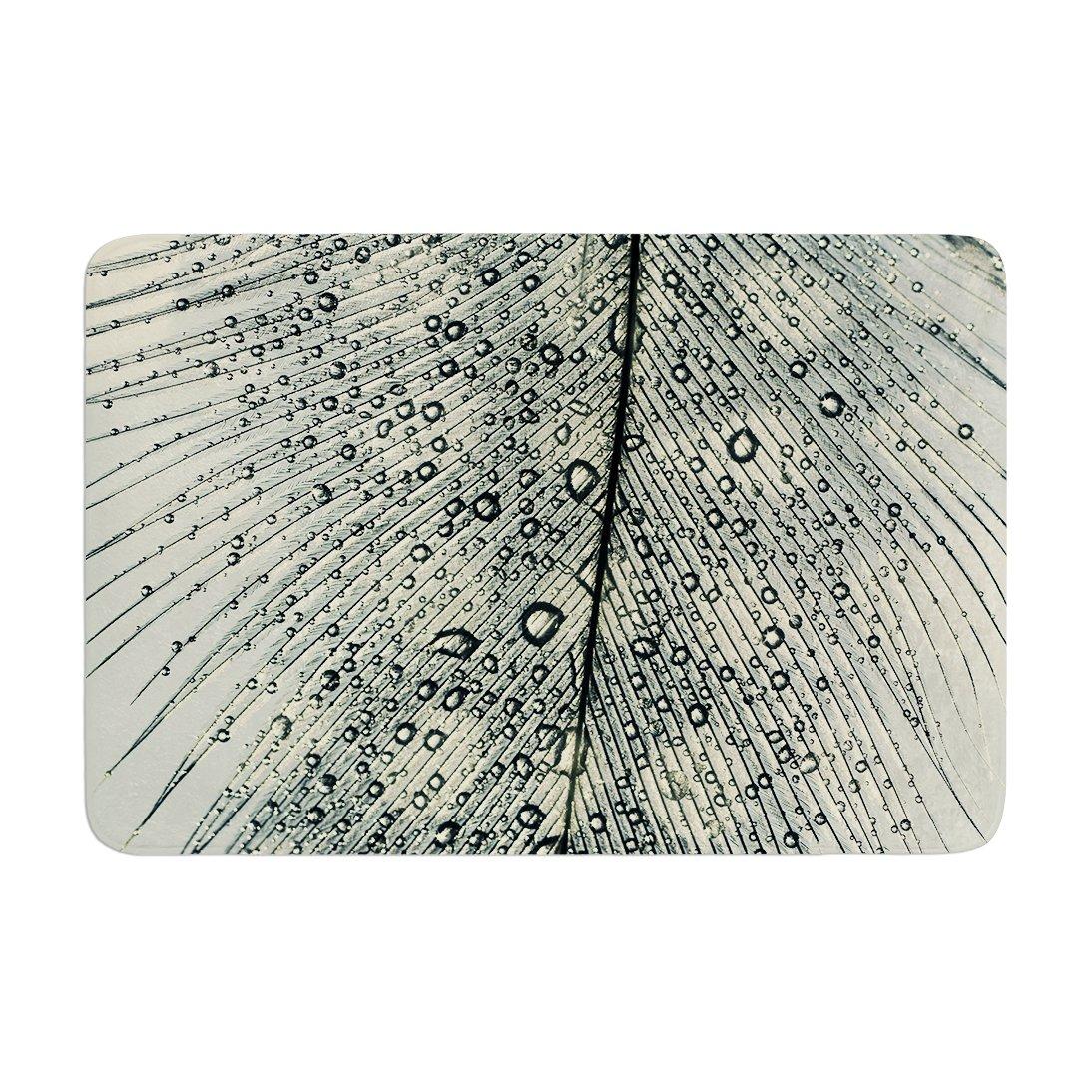 17 by 24 Kess InHouse Ingrid Beddoes Feather Light Memory Foam Bath Mat