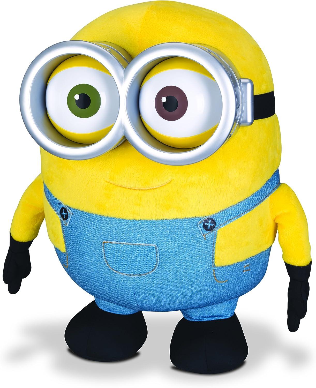 Minions Jumbo Talking Minion Bob Plush: Amazon.es: Juguetes y juegos