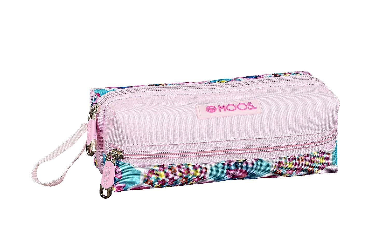 Moos Flamingo Pink Oficial Estuche Escolar 200x80x70mm ...