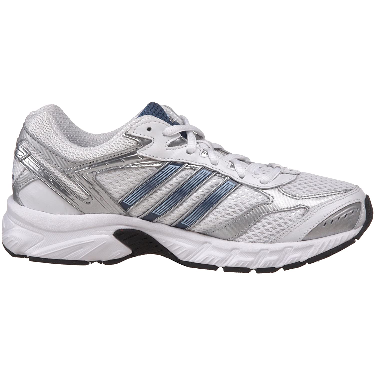 Amazon.com | adidas Womens Duramo 3 Running Shoe, Running White/Vision Blue/Metallic Silver, 8 M US | Road Running