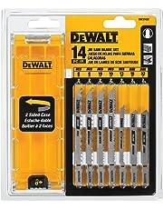 DEWALT DW3742C T-Shank Jig Saw Blade Set with Case, 14-Piece