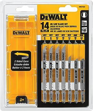 10pc Jigsaw Blade Set For Bosch T Shank Jig Saw Metal Plastic Wood Blades T Slot