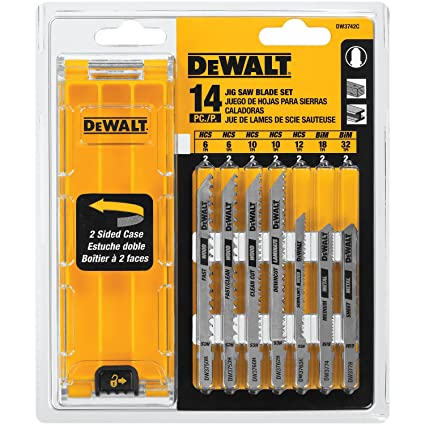 Dewalt dw3742c 14 piece t shank jig saw blade set with case dewalt dw3742c 14 piece t shank jig saw blade set with case keyboard keysfo Gallery