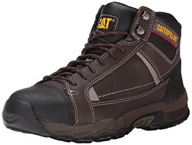 Caterpillar Men's Regulator Steel Toe Work Boot, Brown, ...