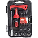 """Supatool 1/4"""" Drive T-Handle Ratchet Wrench"""