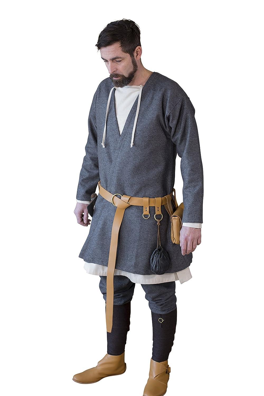 Burg Schneider Medieval Vikingo Tapa Rock Loki - Lana Gris Oscuro ...