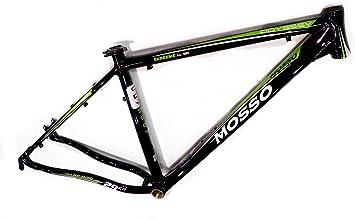 Mosso MTB 2902 Odyssey - Cuadro, Color Negro/Verde, Talla 19 ...