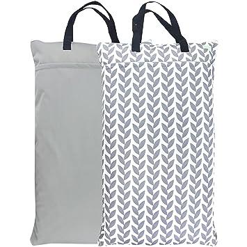 Amazon.com: Wegreeco - Bolsa de pañales reutilizable para ...