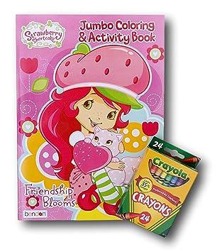 Strawberry Shortcake Jumbo Coloring And Activity Book With Crayola Crayons