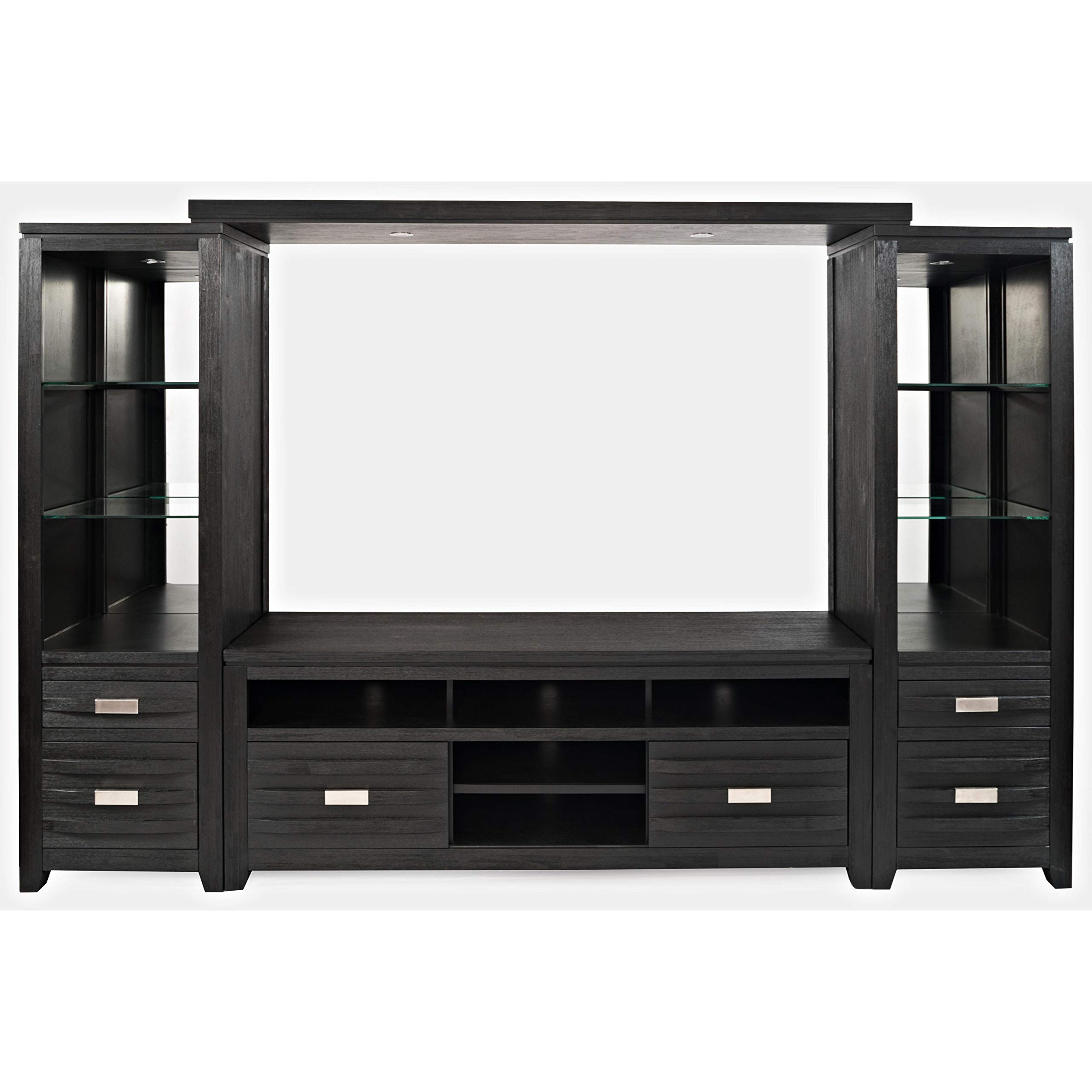 Jofran Altamonte Entertainment Wall Dark Charcoal/ by Jofran