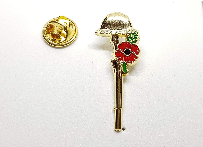WW1 Poppy Lapel Pin Enamel Metal Badges Vintage for men Brooch 2019 British Army