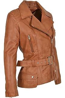 34a3465f2 Femmes Veste De Motard Cuir Bourgogne Mince Fit Couper Mode Designer ...