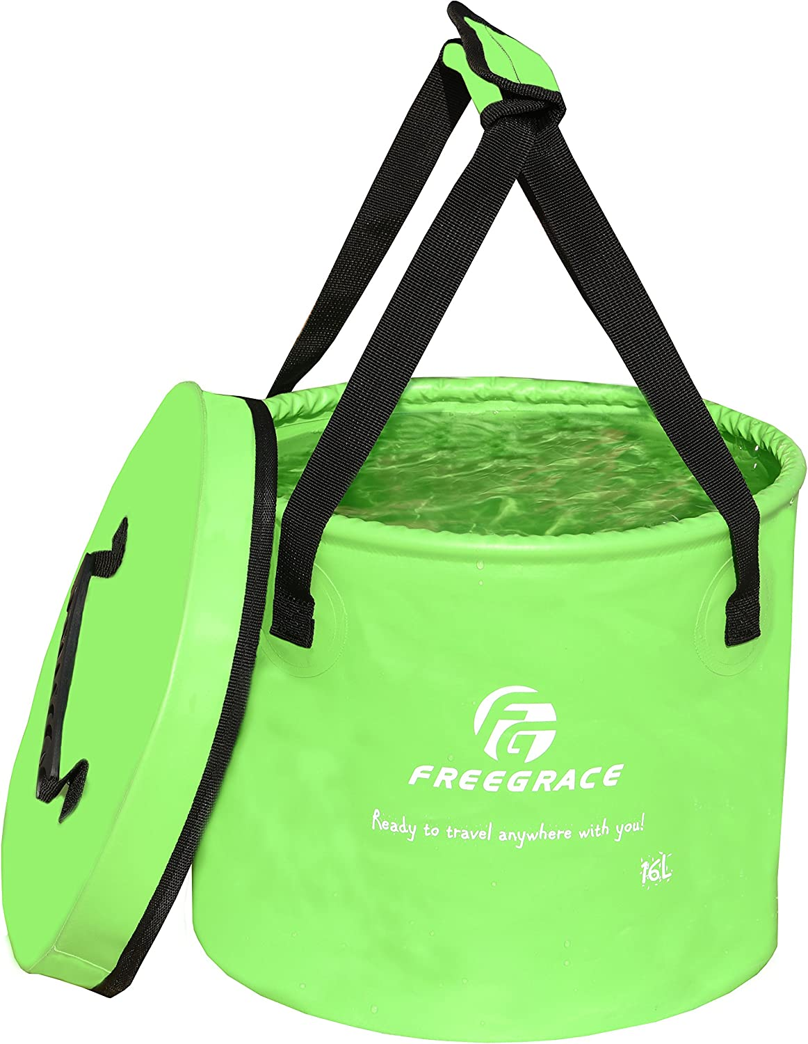 Freegrace Collapsible Bucket for Camping