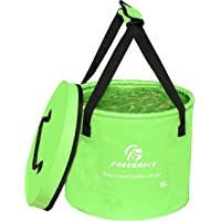 Freegrace Premium Collapsible Bucket Compact Portable Folding Water Container - Lightweight & Durable - Includes Handy…