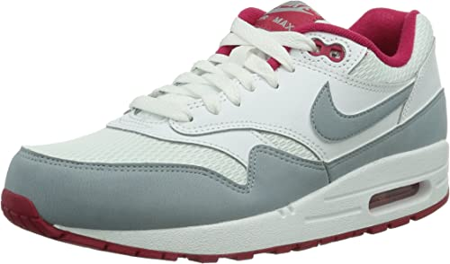 un poco docena casete  Nike S Nike Air Max 1 Essential 599820, Sneaker Donna, Bianco (Weiß (weiß /  grau)), 36,5: Amazon.it: Scarpe e borse
