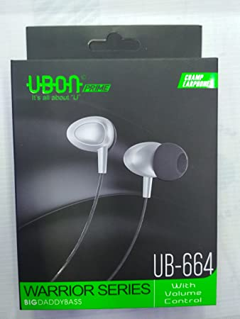UBON Earphones with Mic Mobile Phone Wired Headsets