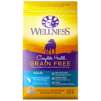 Wellness Complete Health Natural Grain Free Dry Dog Food Whitefish