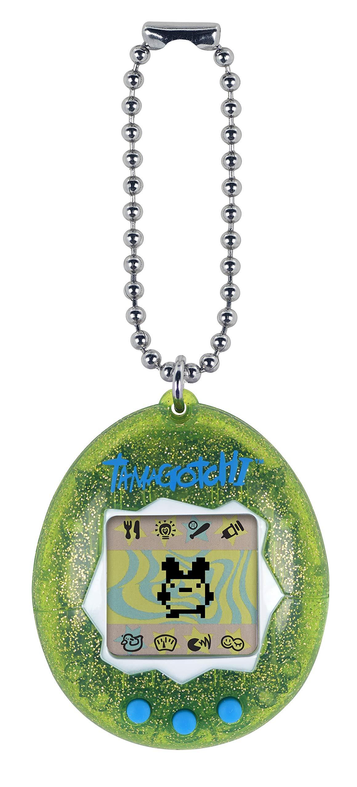 Tamagotchi Electronic Game, Green Glitter by Tamagotchi (Image #1)