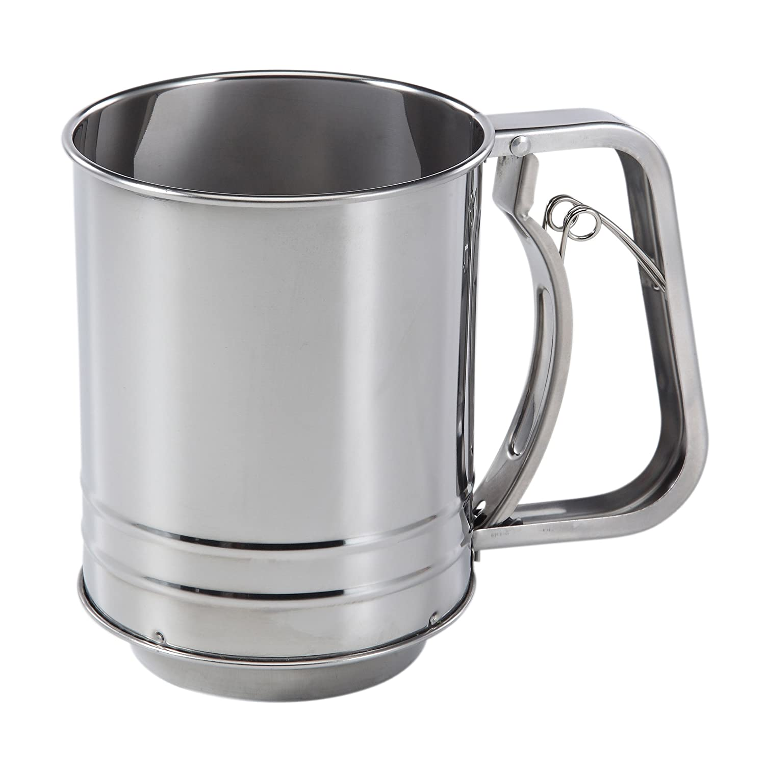 Baker's Secret 3-Cup Stainless Steel Flour Sifter World Kitchen (PA) 1109846