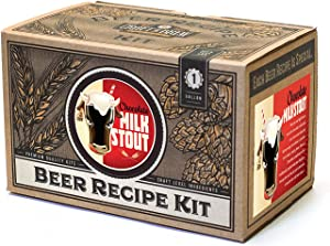 Craft a Brew Ingredient 1 Gallon Chocolate Milk Stout Recipe Kit – Make Your Own Beer with Home Brewing