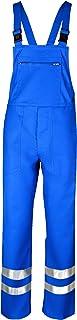 Asatex teclhmr0198Flamm di sostanze chimiche/protezione della Salopette con Reflex, Blu, 98