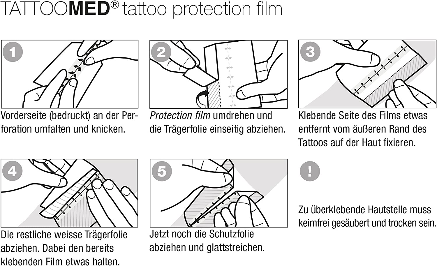 TattooMed Protection Patch 2.0 - Parche de Protección Transparente ...