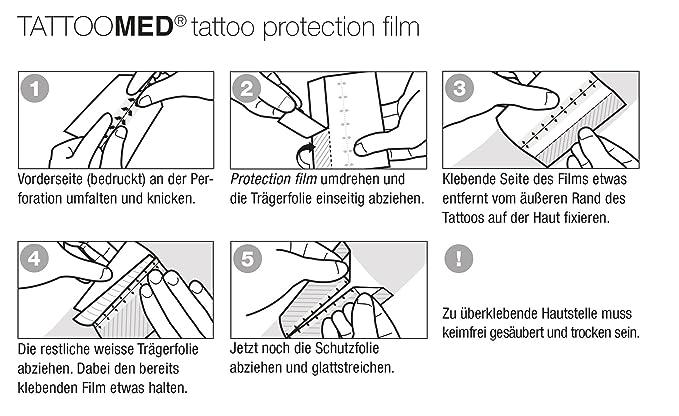 TattooMed Protection Patch 2.0 - Parche de Protección Transparente ...
