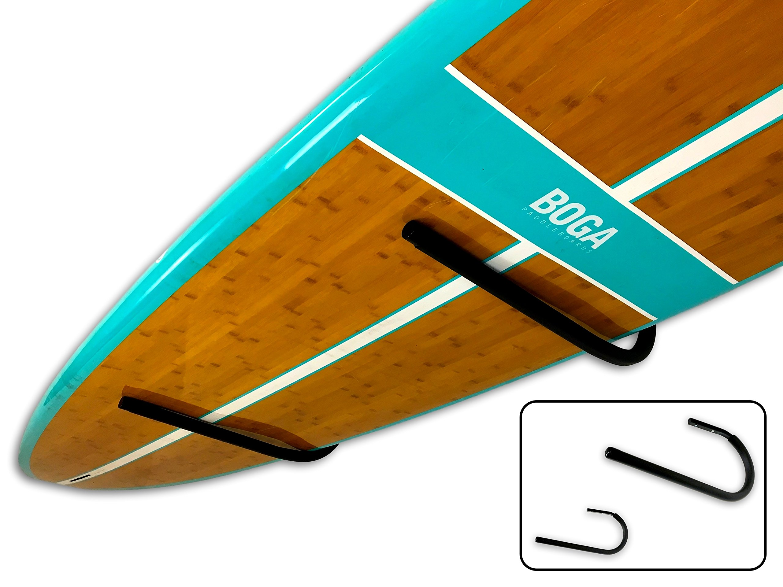 StoreYourBoard SUP and Surfboard Ceiling Storage Rack, Hi Port Overhead Mount by StoreYourBoard