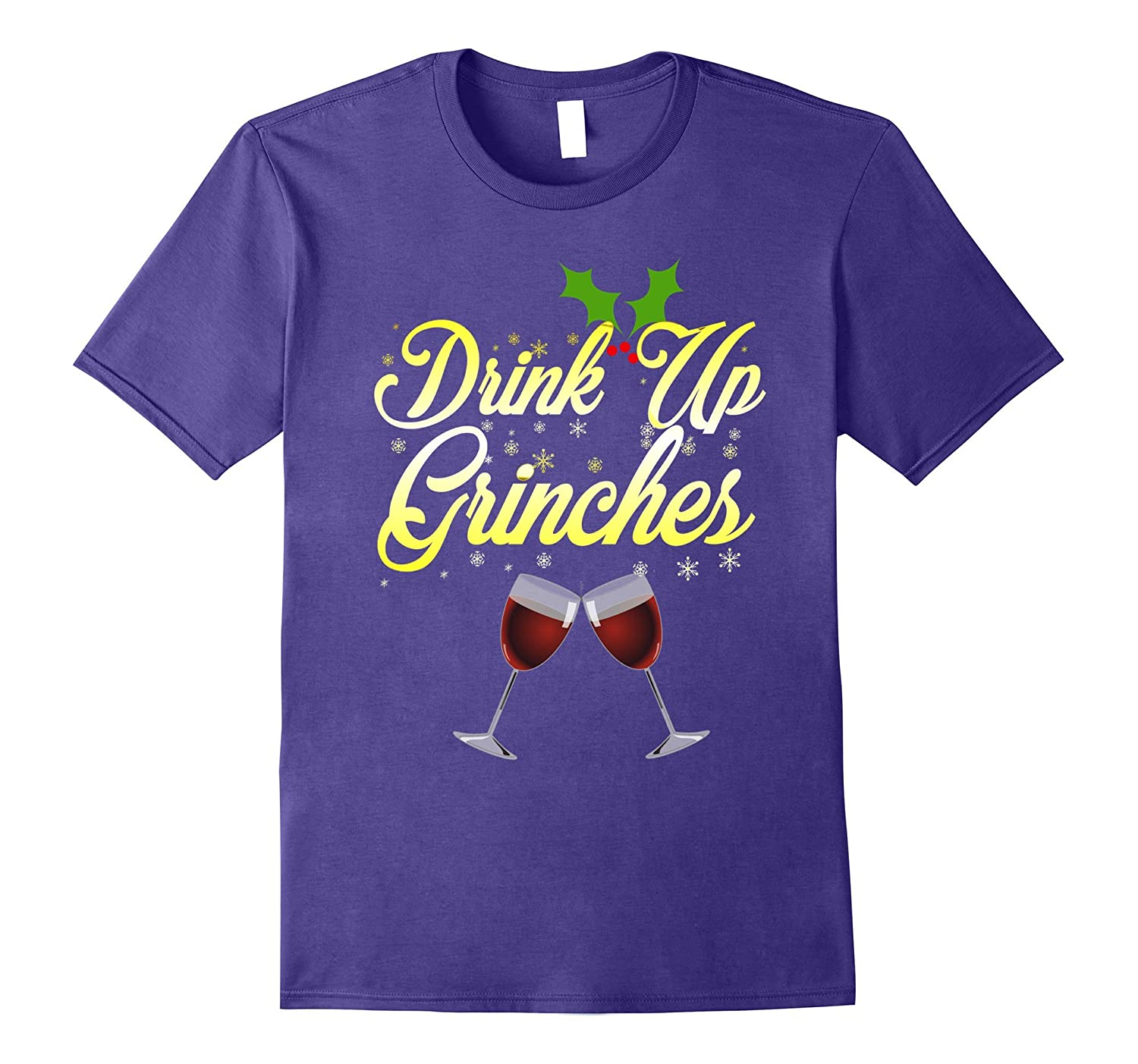 Drink Up Grinches Ugly Sweater Funny Christmas Shirt-FL