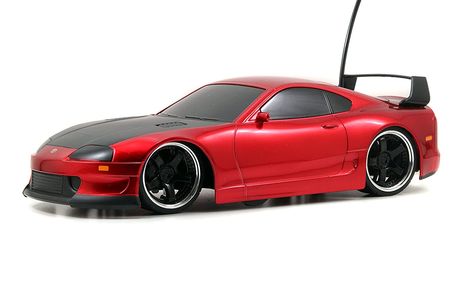 Amazon.com: Jada Toys HyperChargers Toyota Supra Tuner/Exotic Remote  Controlled Vehicle (1:16), Red: Toys U0026 Games