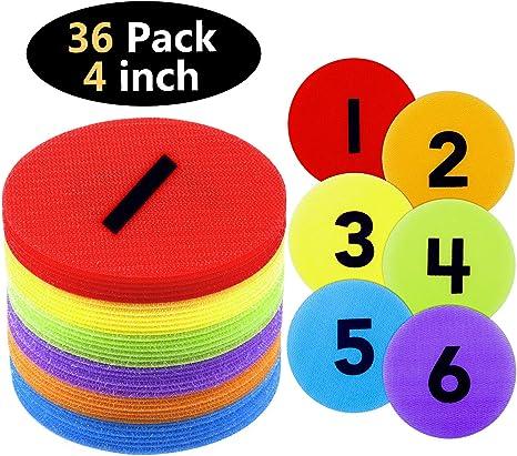 Amazon.com: TABIGER - Marcadores para alfombras (36 unidades ...