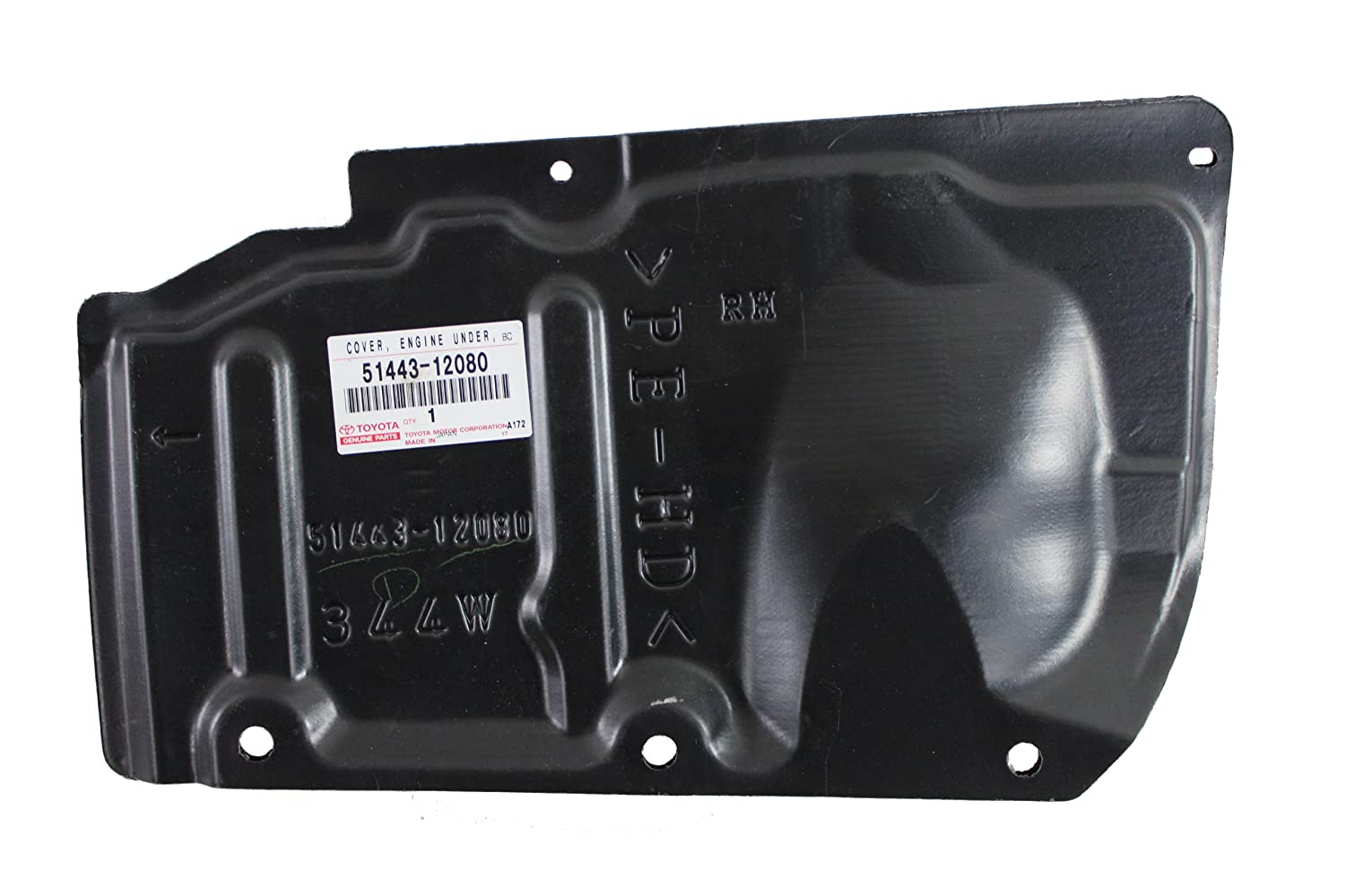 Genuine Toyota Parts 51443-12080 Lower Engine Cover