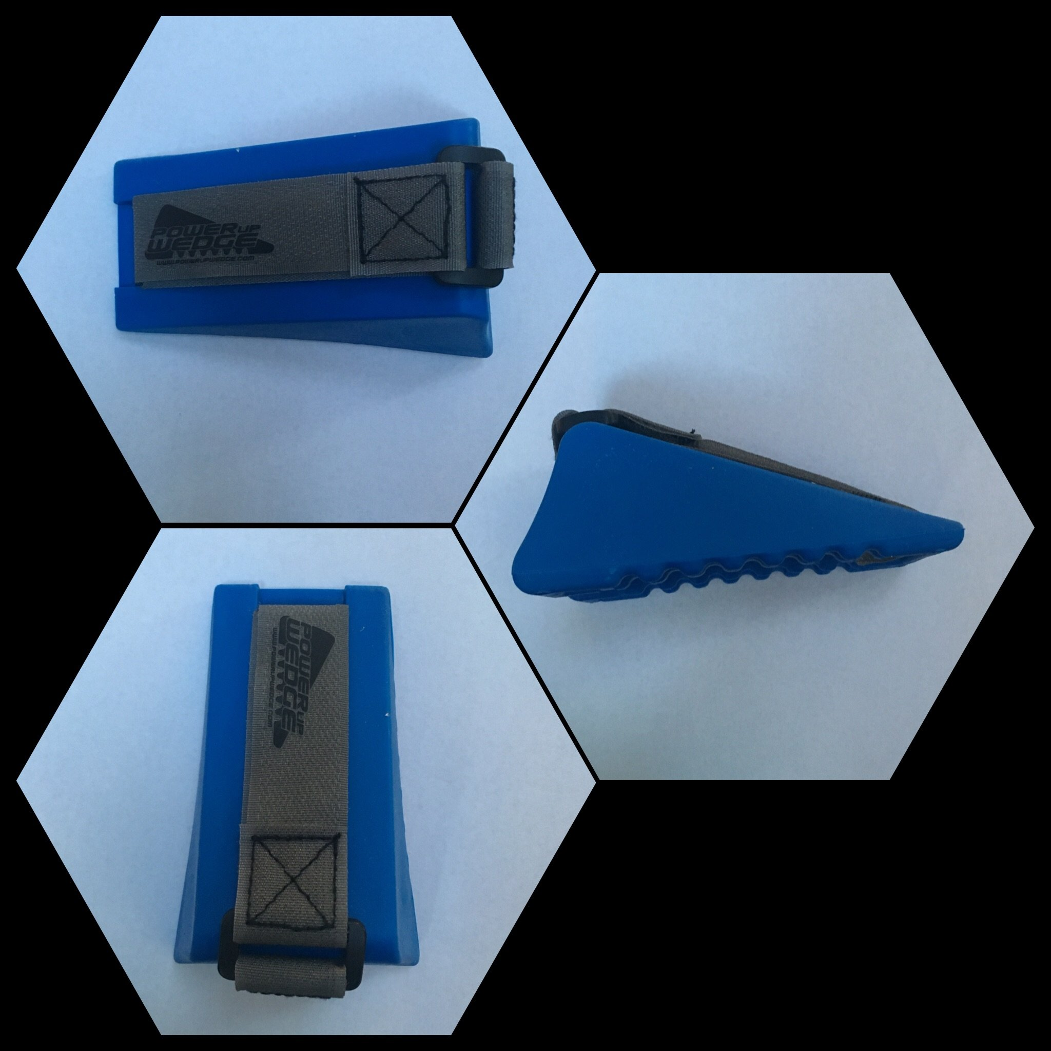 Power Up Wedge Hitting Training Aid Engage Your Lower Half Like Never Before (Royal Blue) by Power Up Wedge