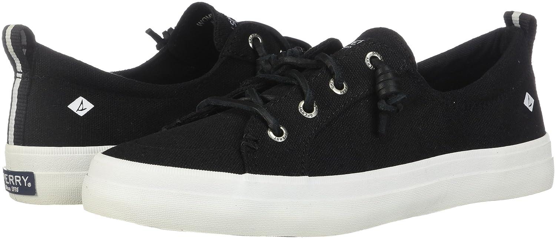 Sperry Top-Sider Women's Crest Vibe Sneaker B00LPA75E8 8.5 B(M) US|Linen Black