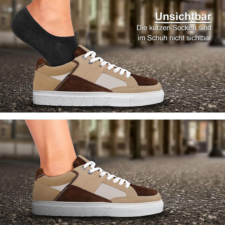 ROYALZ calzini corti per sneakers 5 paia da uomo e donna comodi moderni traspiranti
