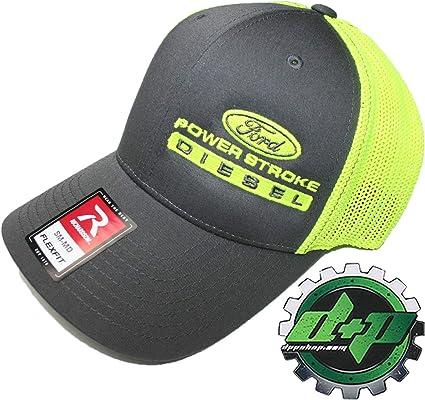 Dodge Cummins trucker hat richardson Charcoal Gray Black mesh flex fit sm//md
