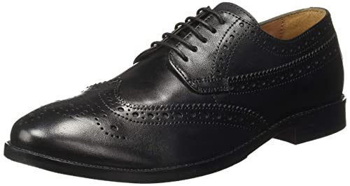 a8d1995492 Van Heusen Men s Black Leather Formal Shoes-11 UK India (45 EU ...