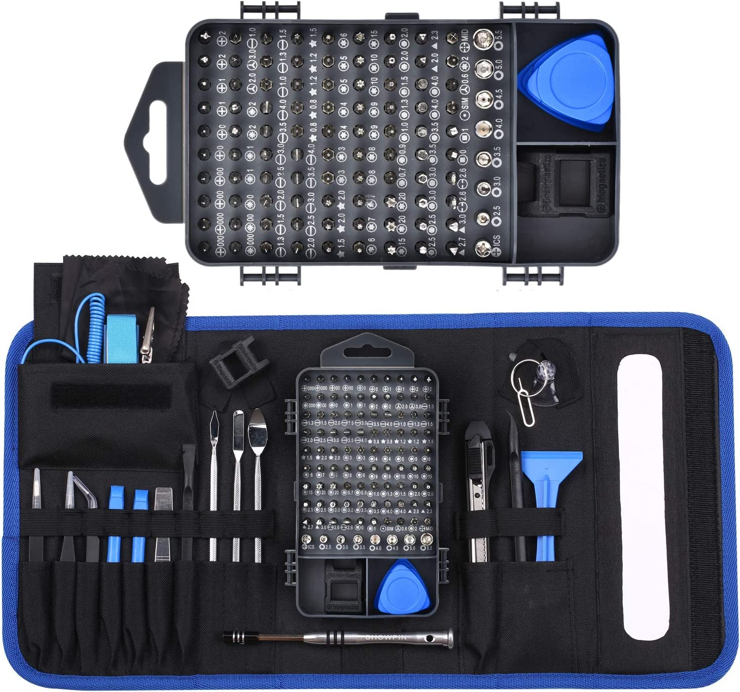 139 in 1 Precision Screwdriver Set, Professional Laptop, PC Repair Tool Kit, with 98 Magnetic Bit and 41 Repair Tools, Suitable for Cell Phone, Iphone, Tablet, Macbook, Xbox and Other Products Repair