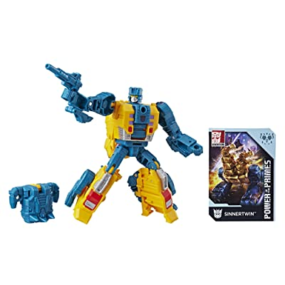 Transformers Generations Power of the Primes Deluxe Class Sinnertwin: Toys & Games