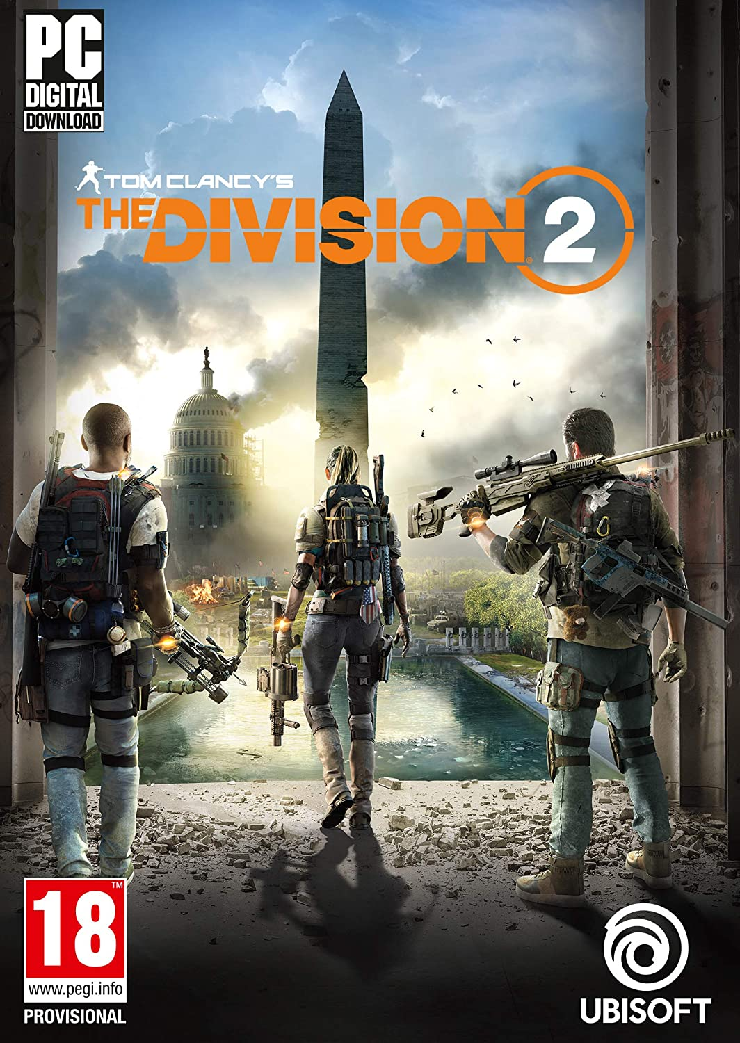 The Division 2 Standard Edition PC Download Uplay Code: Amazon co uk