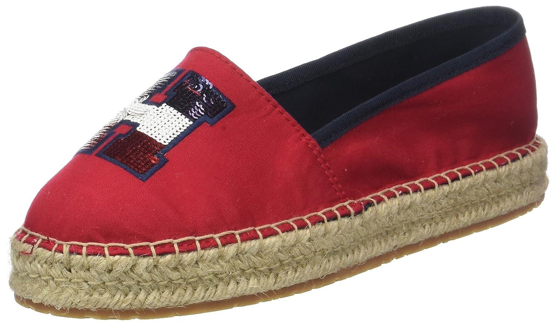 9009f6f5df75a5 Tommy Hilfiger Women's Th Sequins Espadrille: Amazon.co.uk: Shoes & Bags