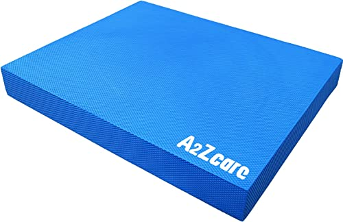 A2ZCARE Premium Quality Balance Pad – Super Soft Pad Provides A Non-Slip Textured Surface Guideline Included