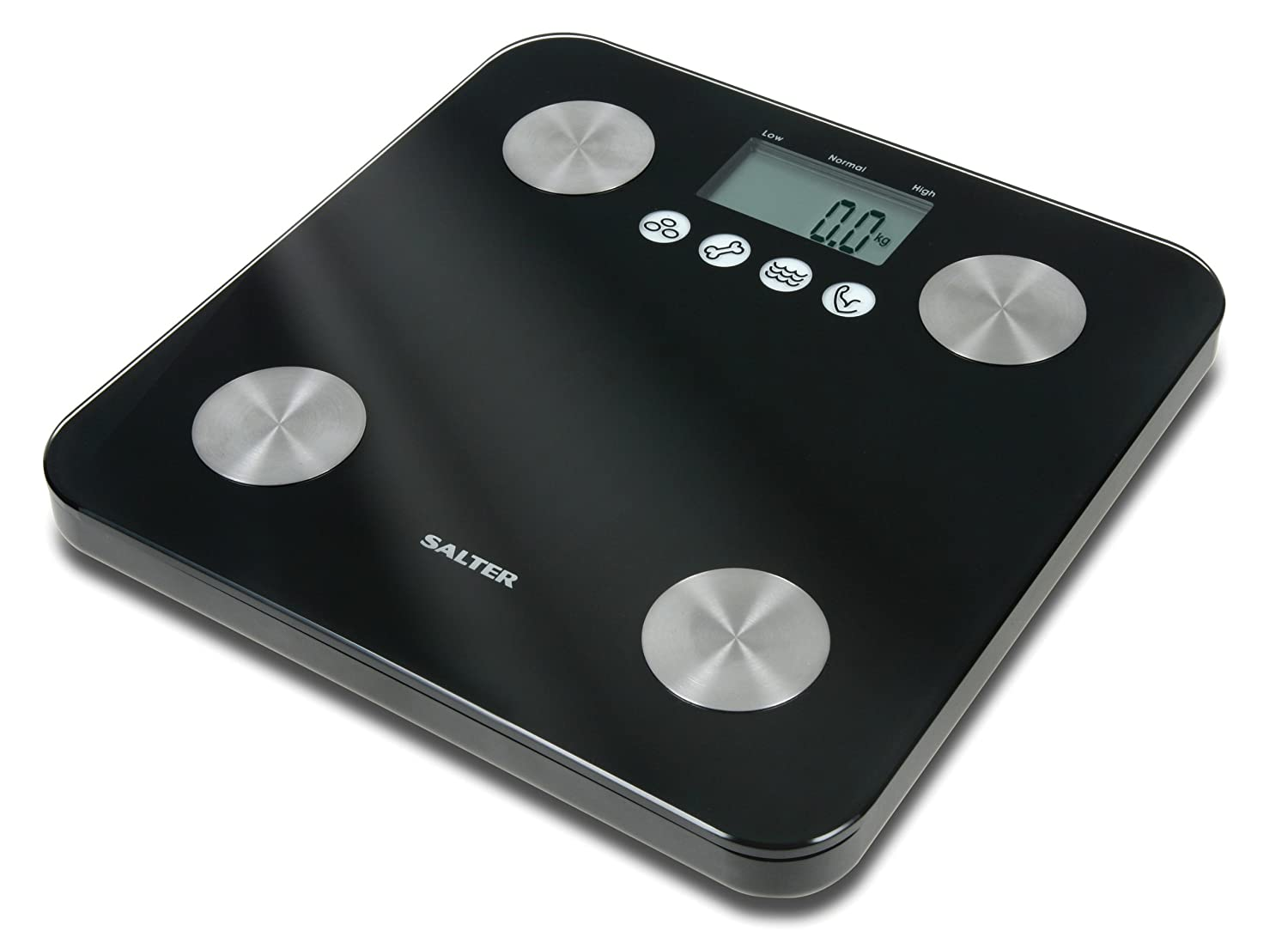 Salter Body Fat Analyser Digital Bathroom Scales Accurate