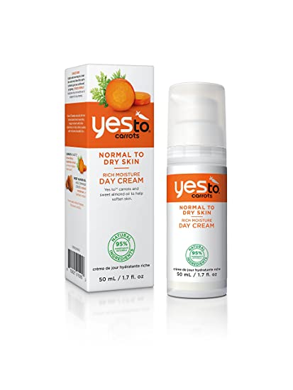 Yes To Carrots Día Crema Hidratante 50ml Rich